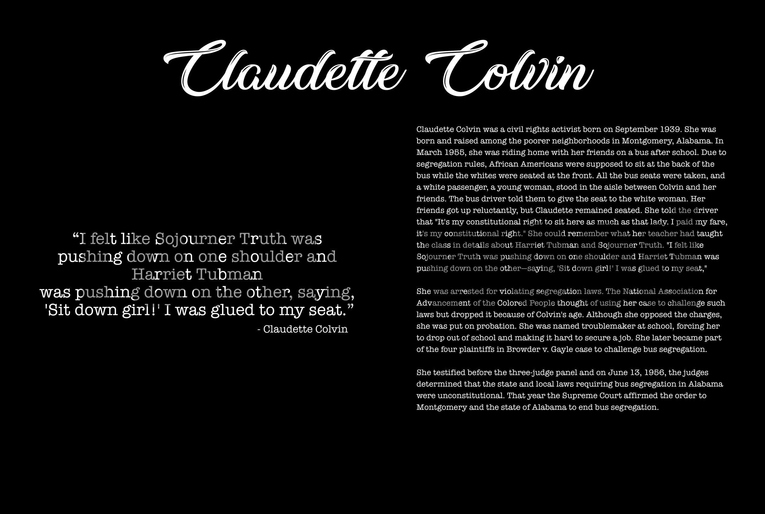 About Claudette copy